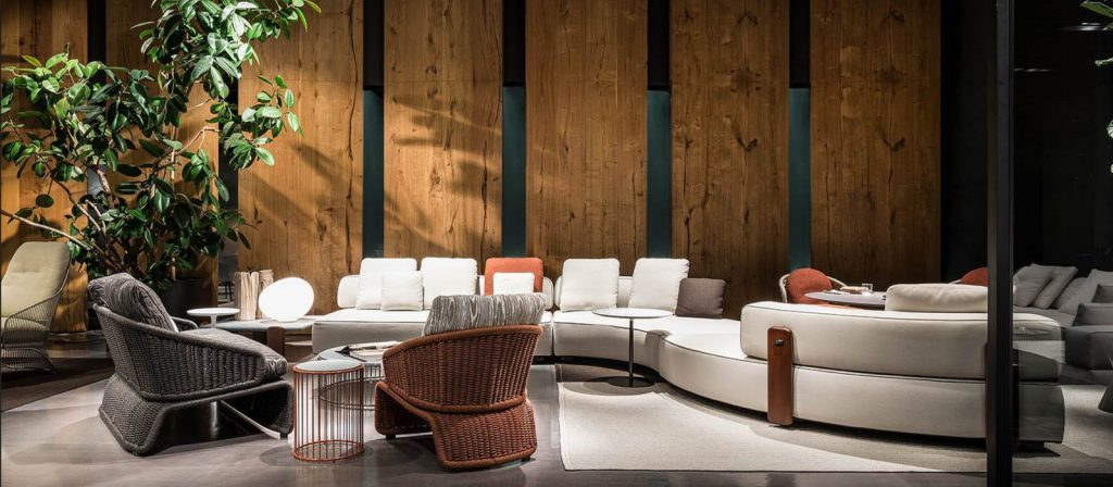 Minotti Imm Cologne 2018 outdoor