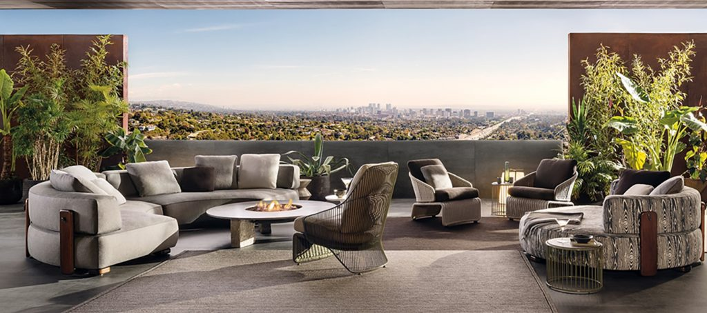 Minotti Florida outdoor