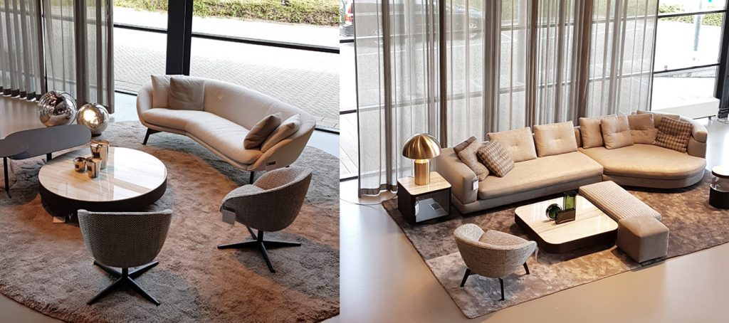 Minotti Concept Store by Van der Donk