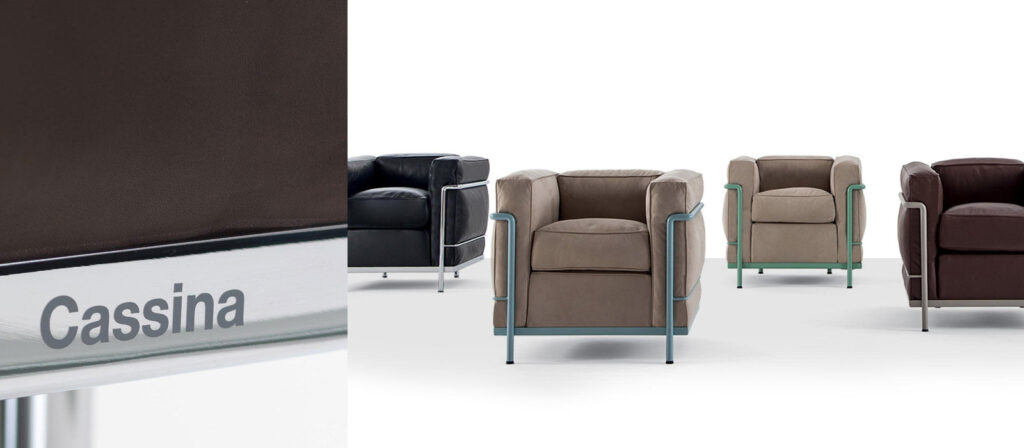 Cassina LC2 fauteuil product foto