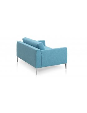 Design on Stock Heelz loveseat blauw
