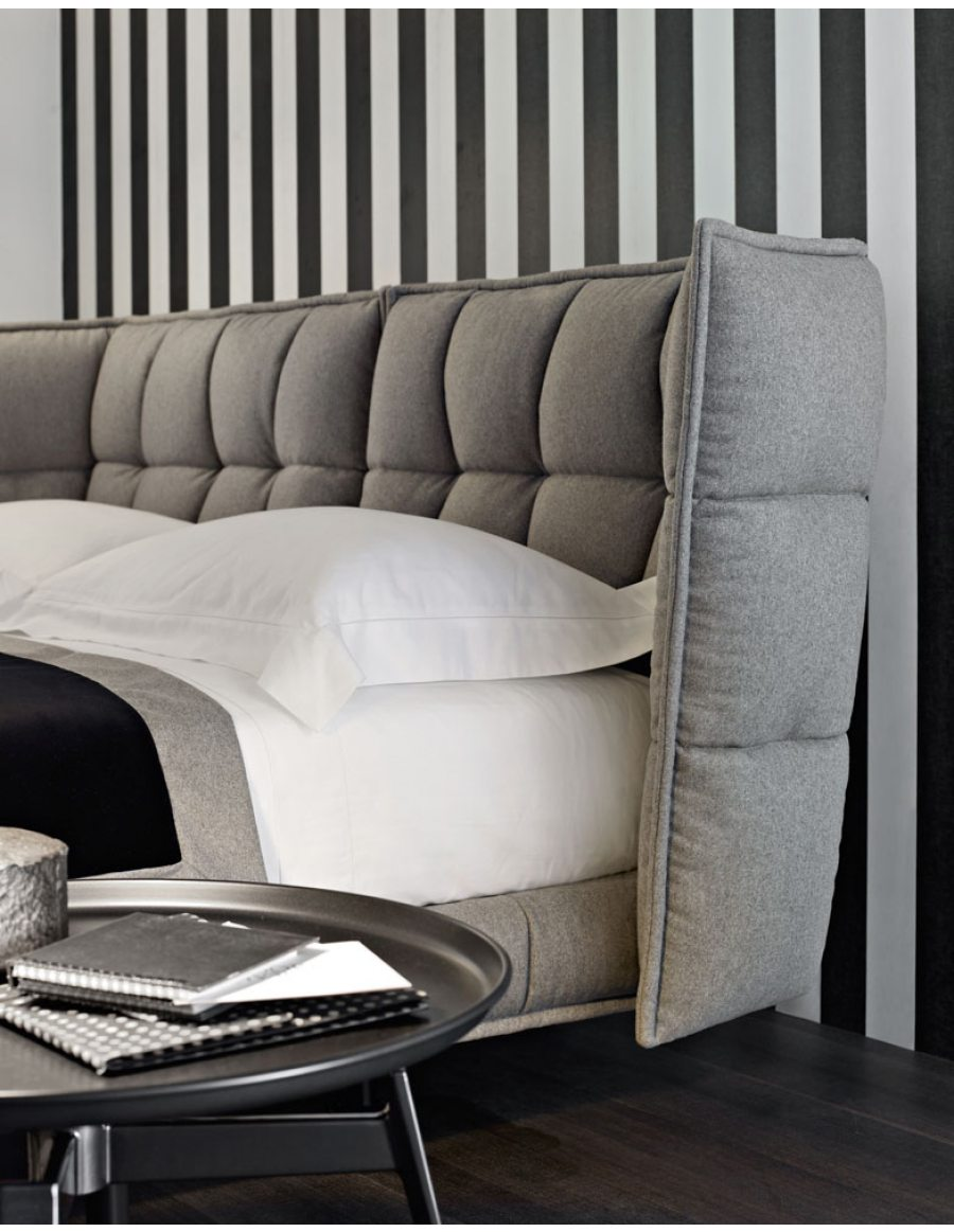 b b italia husk bed van der donk interieur. Black Bedroom Furniture Sets. Home Design Ideas