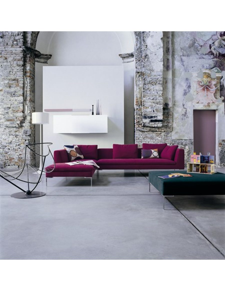 Design Bank Met Chaise Longue.B B Italia Charles Bank Van Der Donk Interieur