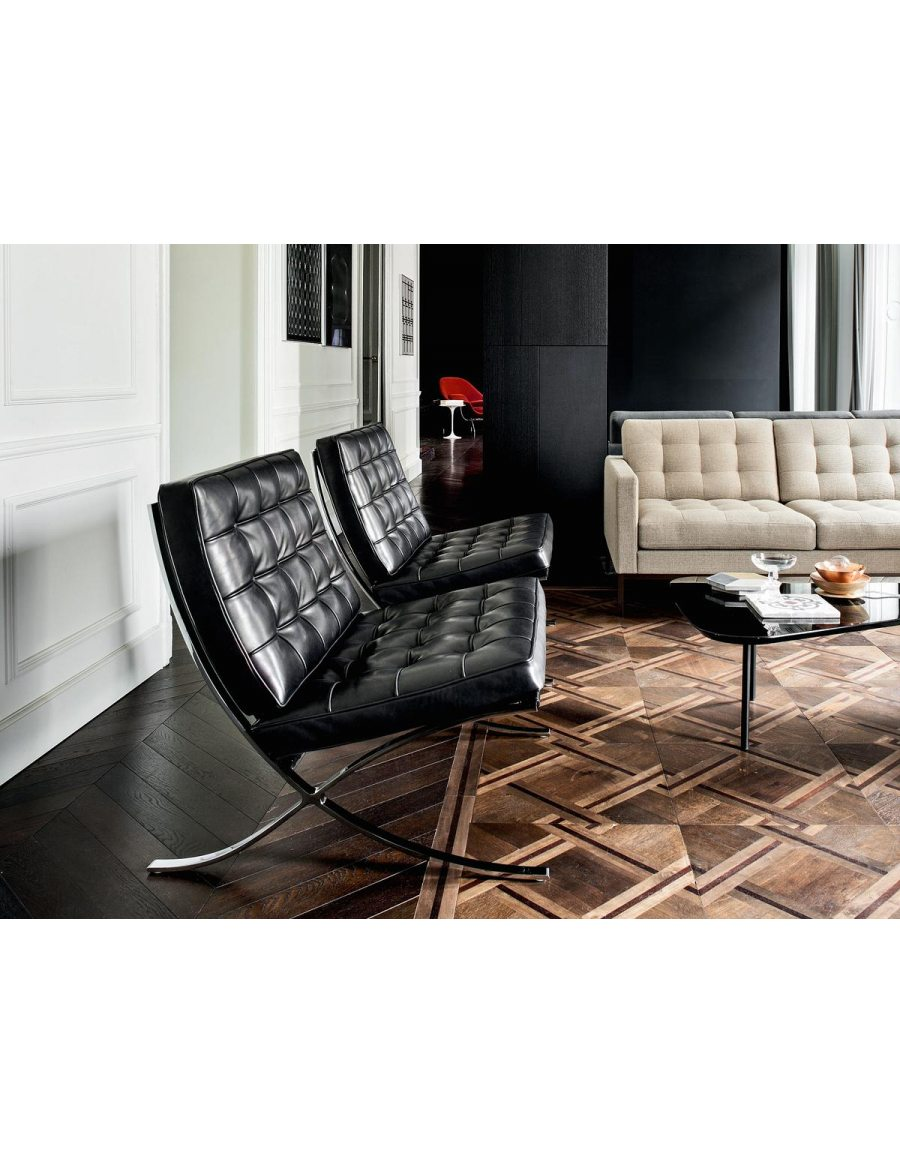 barcelona chair van der donk. Black Bedroom Furniture Sets. Home Design Ideas