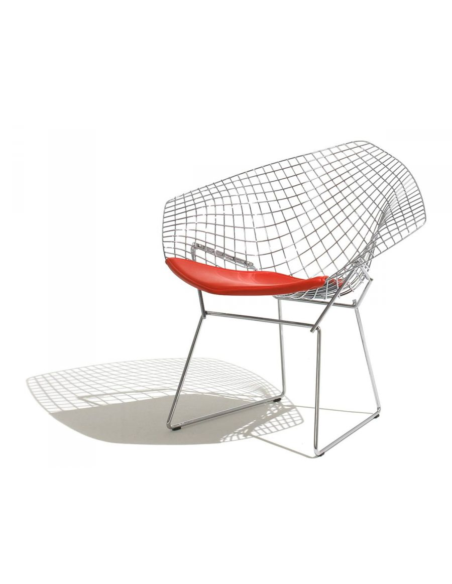 knoll international bertoia diamond chair van der donk interieur. Black Bedroom Furniture Sets. Home Design Ideas