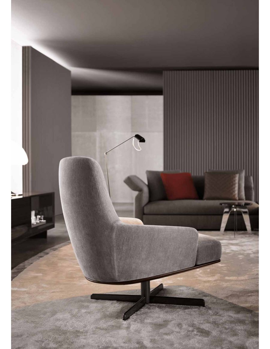 Snap Minotti Coley soft fauteuil Van der Donk Interieur photos on ...