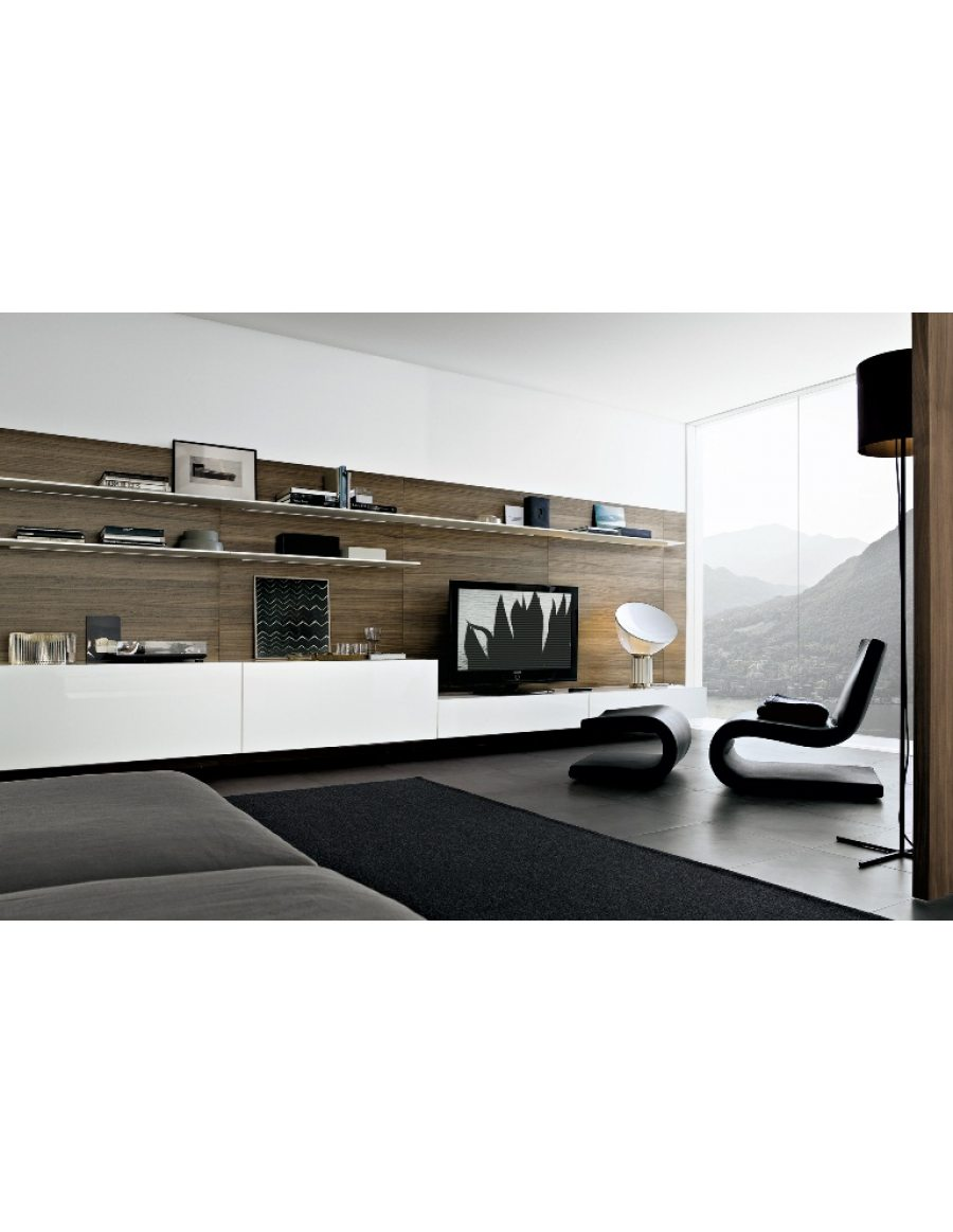 poliform sintesi wandsysteem van der donk interieur. Black Bedroom Furniture Sets. Home Design Ideas