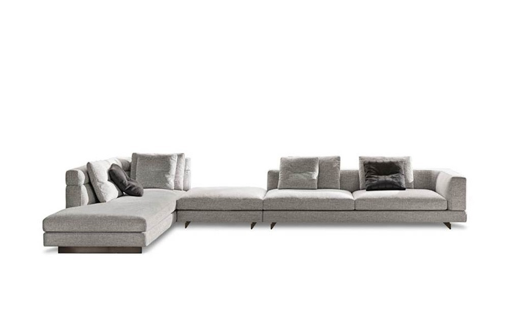 Design Bank Met Chaise Longue.Minotti Alexander Bank Van Der Donk Interieur