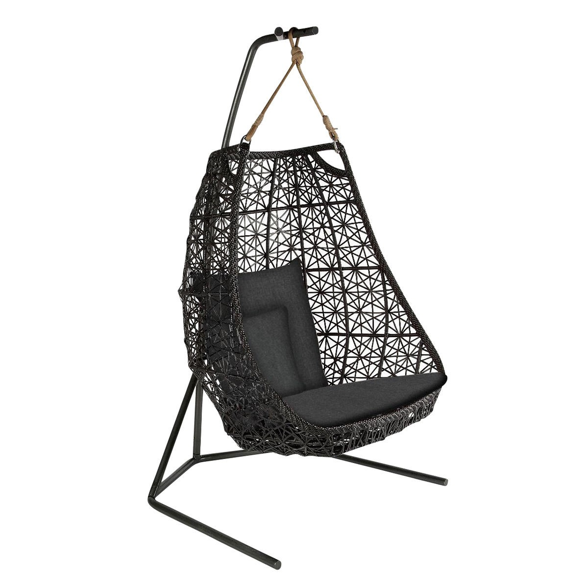Cool Kettal Maia Egg Swing Chair Van Der Donk Interieur Frankydiablos Diy Chair Ideas Frankydiabloscom