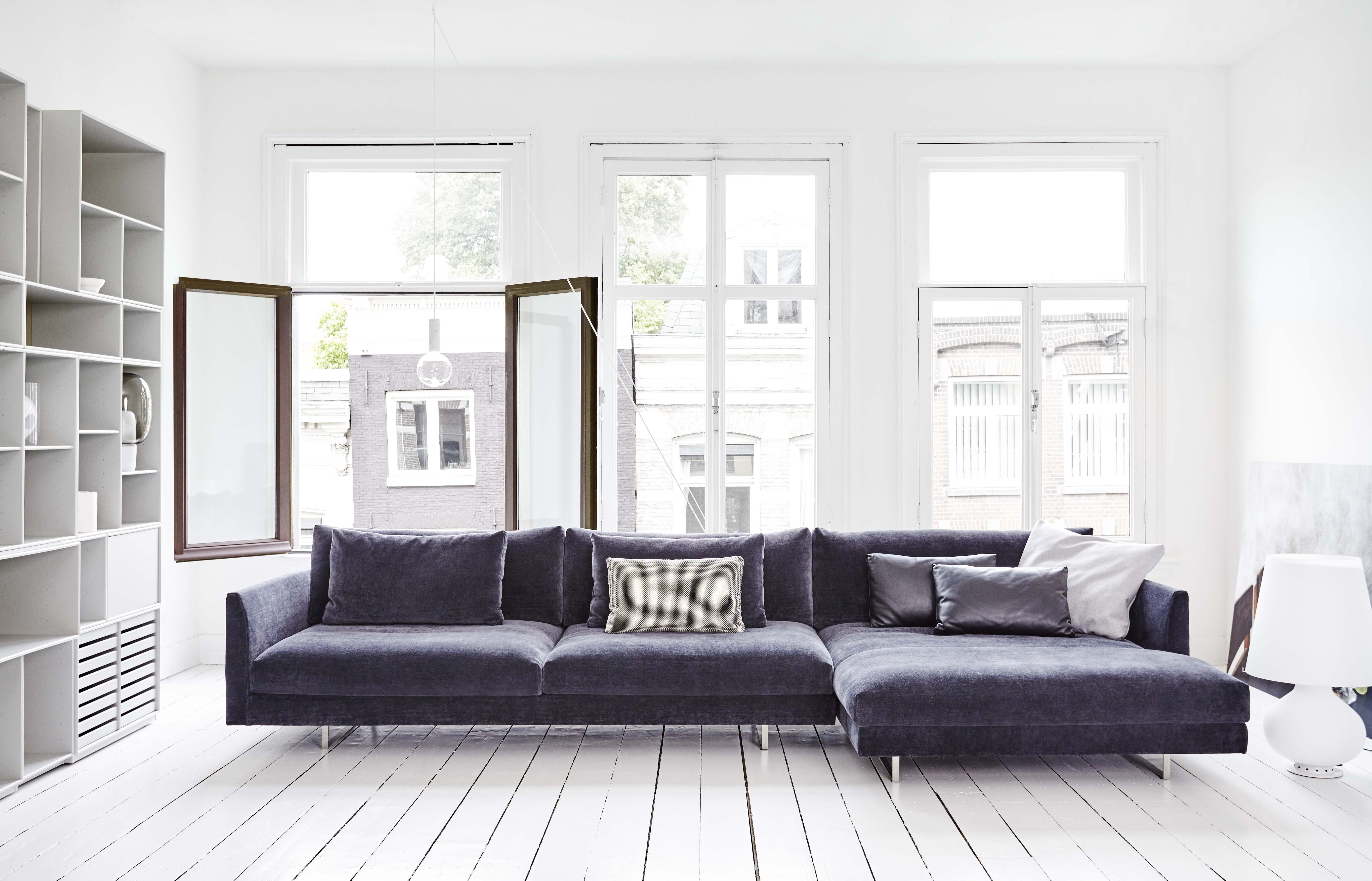 Design Bank Met Chaise Longue.Montis Axel Xl Bank Van Der Donk Interieur
