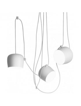 Flos Aim hanglamp set LED wit