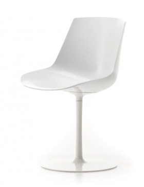 MDF Italia Flow chair central leg