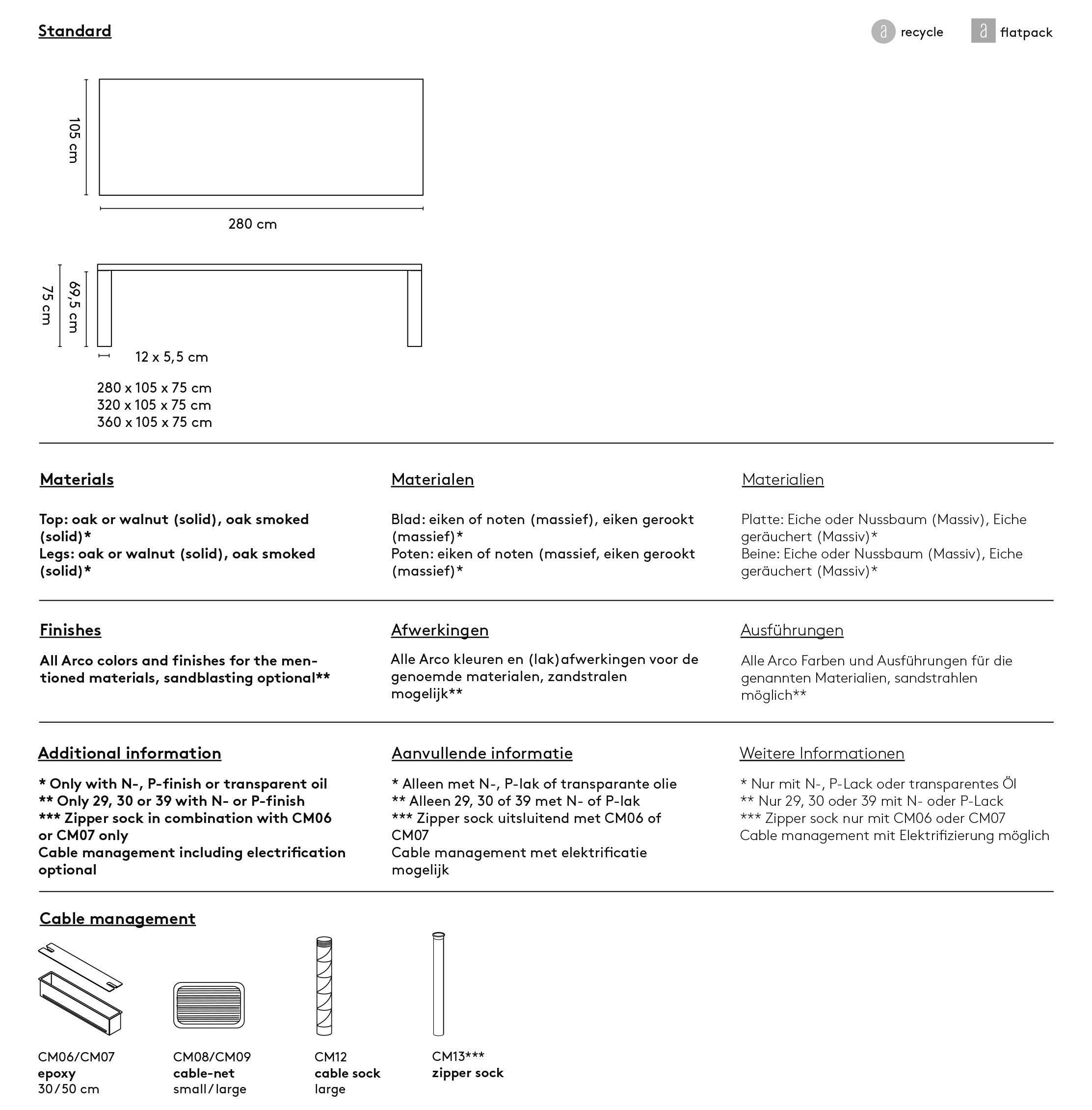 Arco Essenza XL
