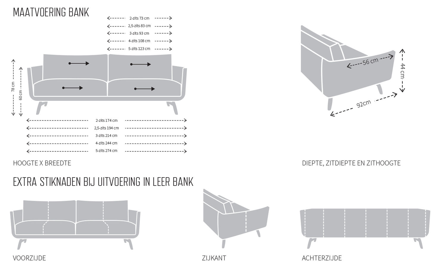 Design On Stock 2 5 Zits Bank.Design On Stock Byen Bank Aanbieding Van Der Donk Interieur