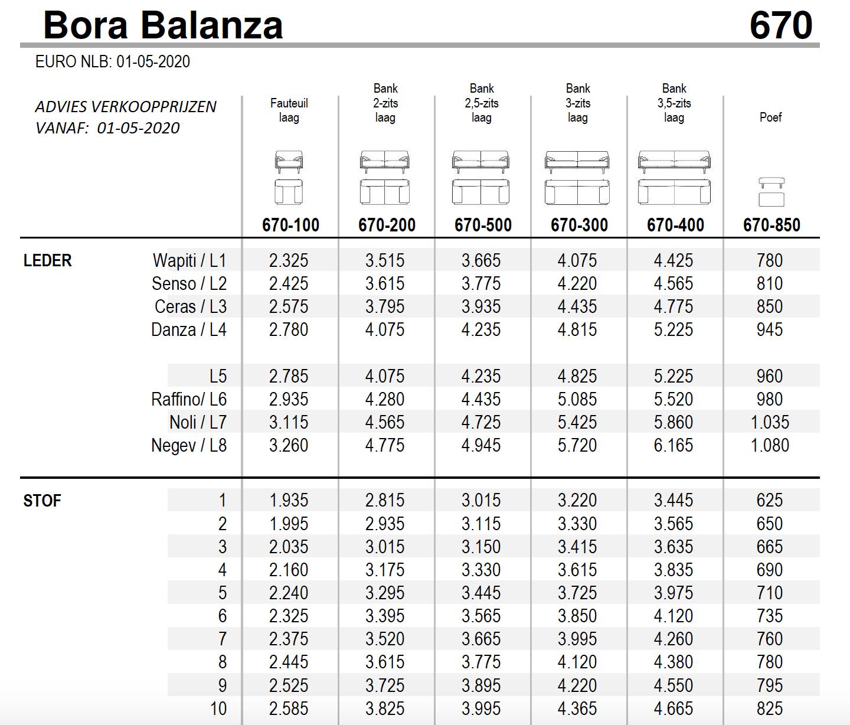 Leolux Bora Balanza