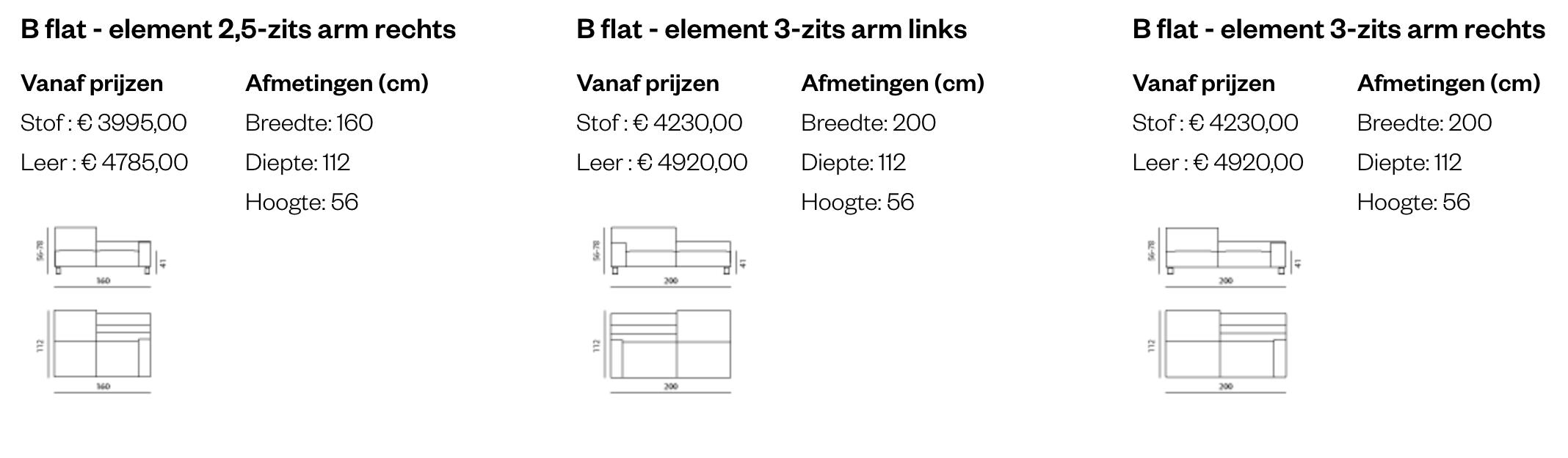 Leolux B Flat