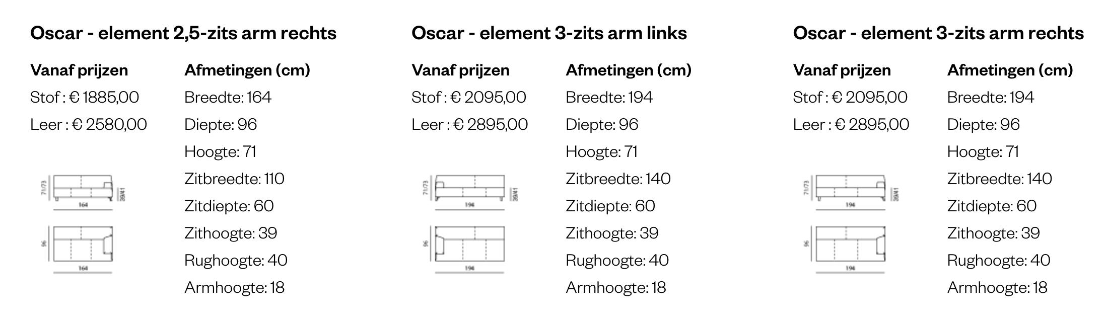 Leolux Oscar