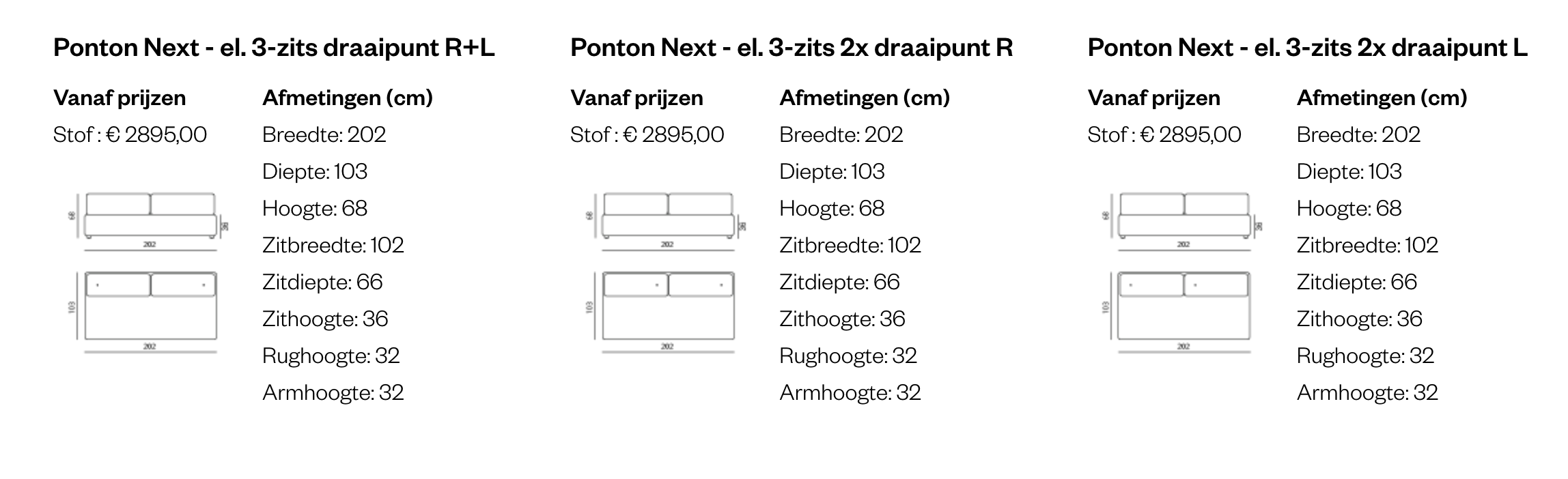 Leolux PonTon