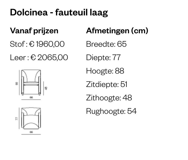 Leolux Dolcinea