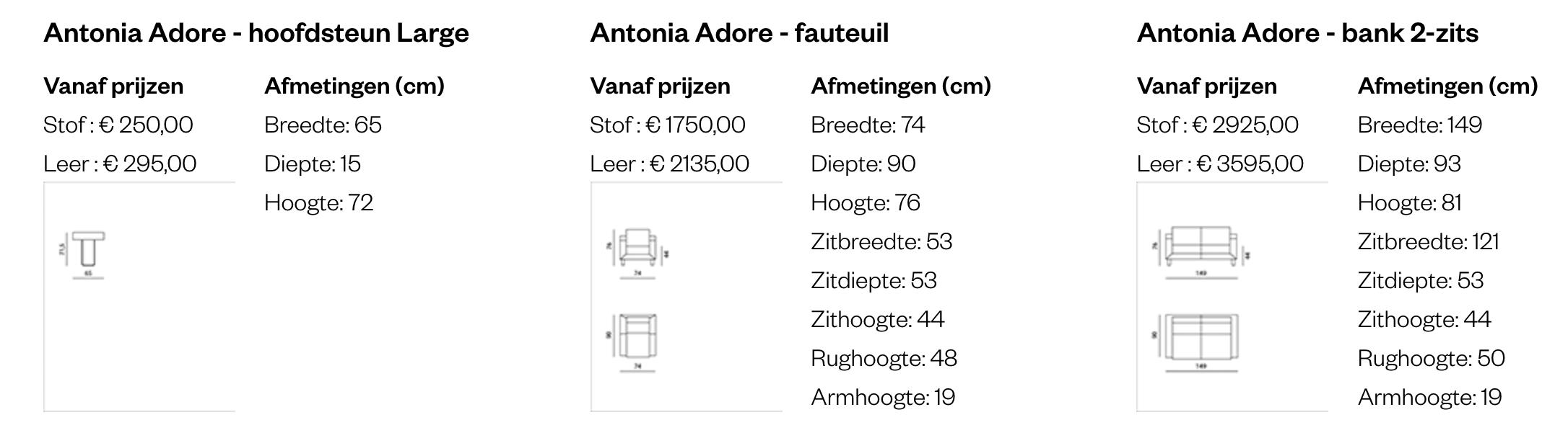 Leolux Antonia Adore