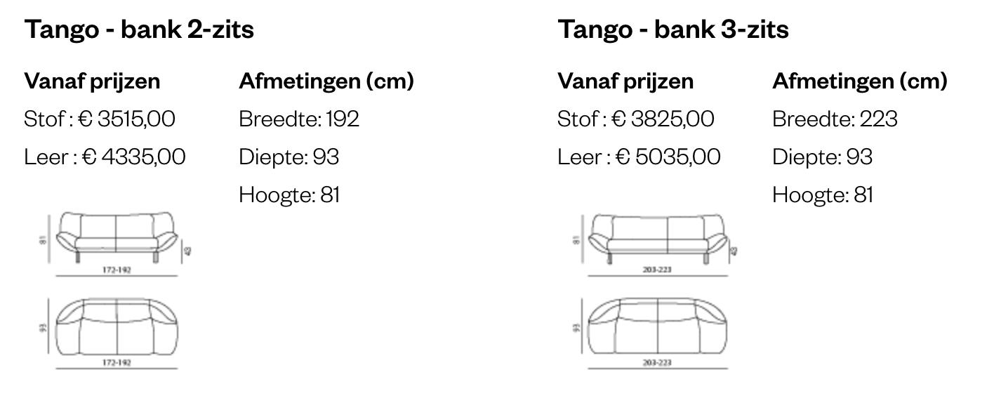 Leolux Tango